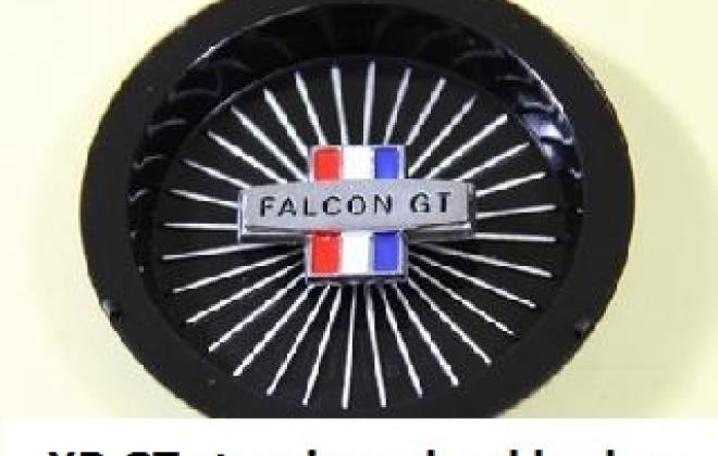 Steering wheel central  Boss badge XR GT falcon.jpg