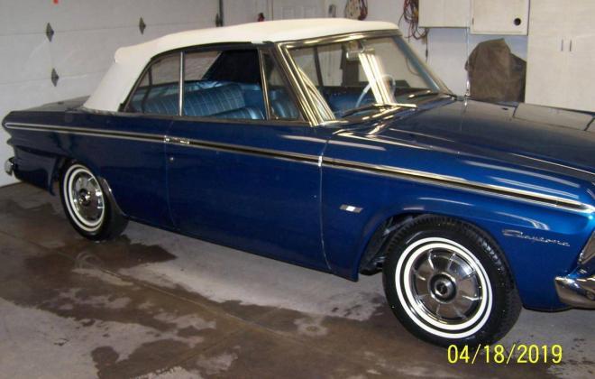 Strato Blue 1964 Studebaker Daytona Convertible restoration images (4).jpg