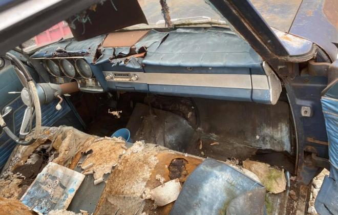 Strato Blue 1964 Studebaker Daytona hardtop coupe 2 door unrestored images (3).jpg