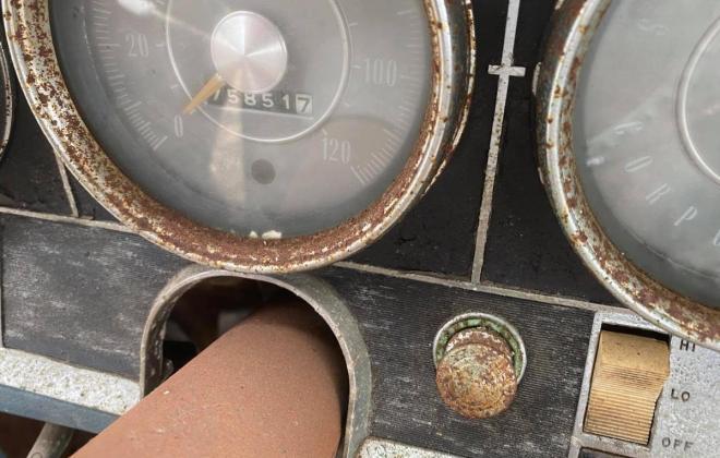 Strato Blue 1964 Studebaker Daytona hardtop coupe 2 door unrestored images (5).jpg