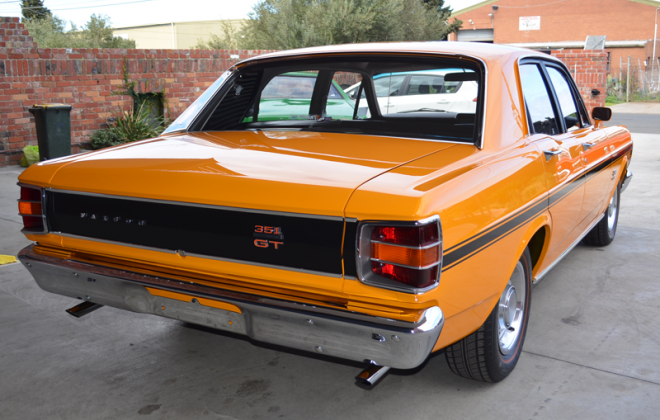 Surfer Orange paint colour Ford Falcon XW GT 1969 1970.png