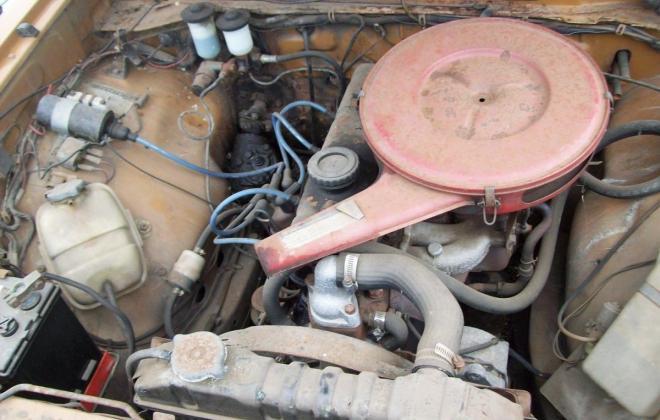 Toyota Corona 1971 Engine bay.jpg