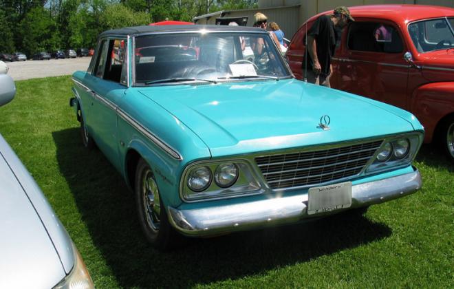 Turquoise 1965 Studebaker Daytona Sports sedan 2 door information  (3).png