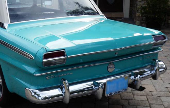 Turquoise 1965 Studebaker Daytona Sports sedan 2 door information  (4).png