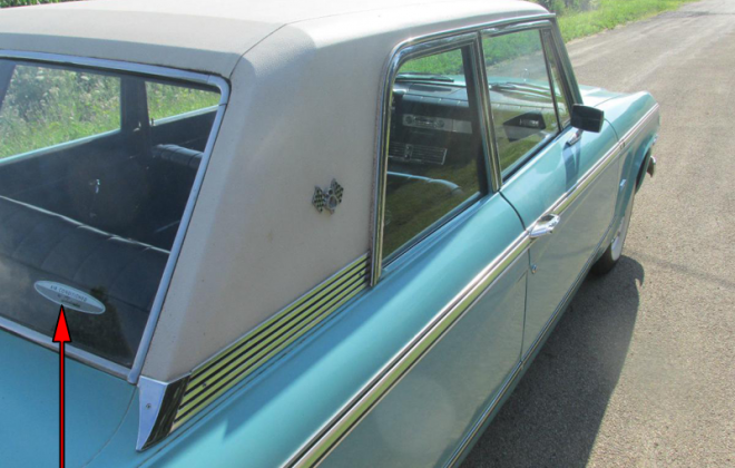 Turquoise 1965 Studebaker Daytona Sports sedan 2 door information  (1).png