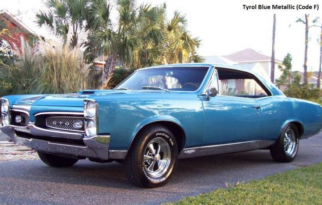 Tyrol Blue Metallic 1967 Pontiac GTO.jpg