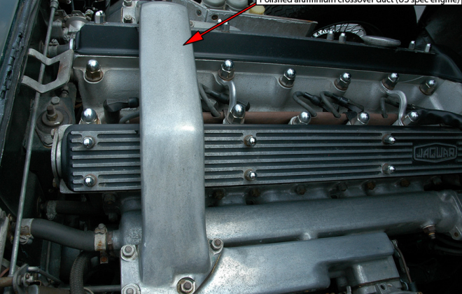 US spec polished aluminium crossover vent carby E-type xke.png