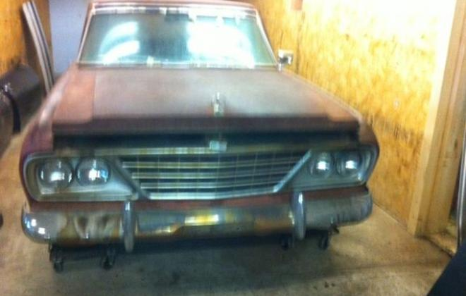 Unrestored 1964 Studebaker Daytona 2 door hardtop images (1).JPG