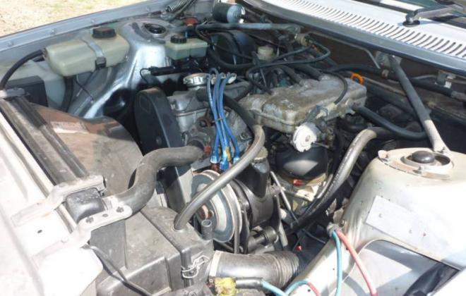 VGolvo 242 GT engine bay image engine 2.3l.JPG