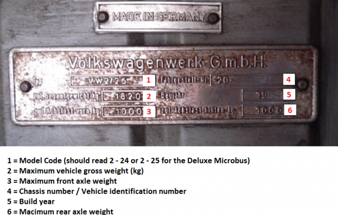 VW Deluxe Microbus Samba Bus chassis plate.png