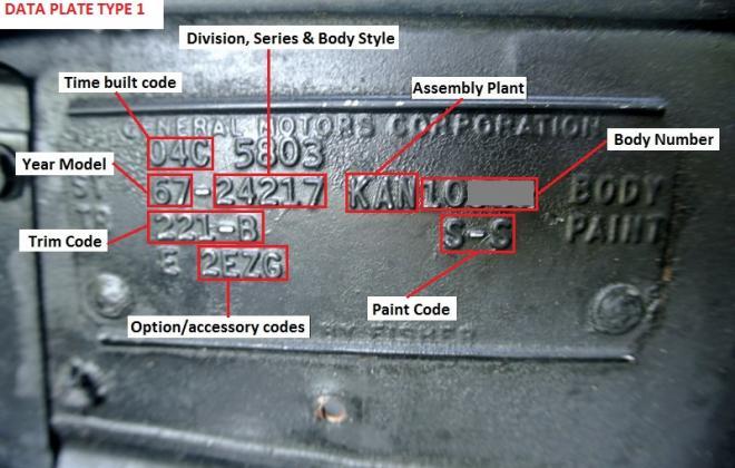 Vehicle Data Plate 1967 Pontiac GTO.jpg