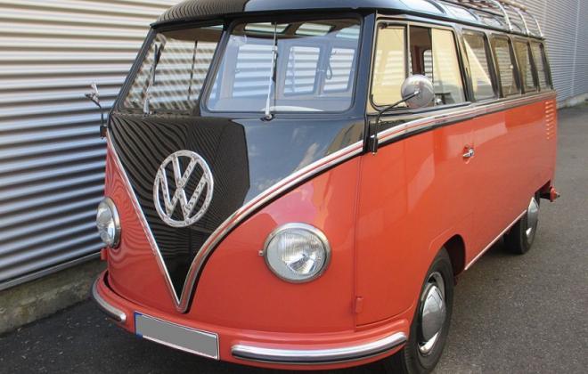 Volkswagen Deluxe Microbus Samba 1955 - 1958 chesnut brown over sealing wax red (1).jpg