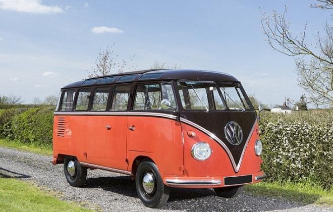 Volkswagen Deluxe Microbus Samba 1955 - 1958 chesnut brown over sealing wax red (7).jpg