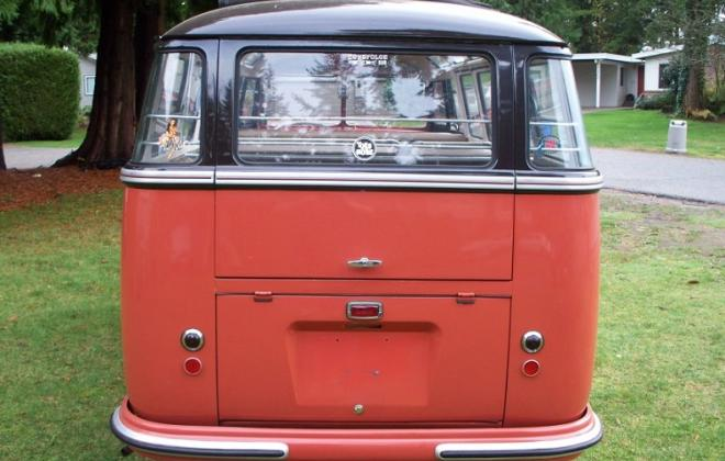 Volkswagen Deluxe Microbus Samba 1955 - 1958 chesnut brown over sealing wax red (4).jpg