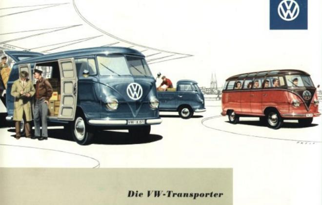 Volkswagen Deluxe Microbus Samba Bus original brochure advertisement 1955 - 1958 (1).png
