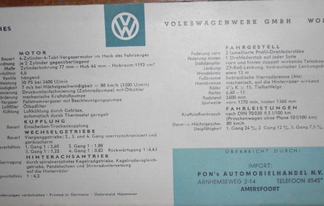 Volkswagen Deluxe Microbus Samba Bus original brochure advertisement 1955 - 1958 (3).jpg