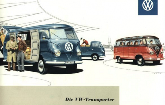 Volkswagen Deluxe Microbus Samba Bus original brochure advertisement 1955 - 1958 (1).png