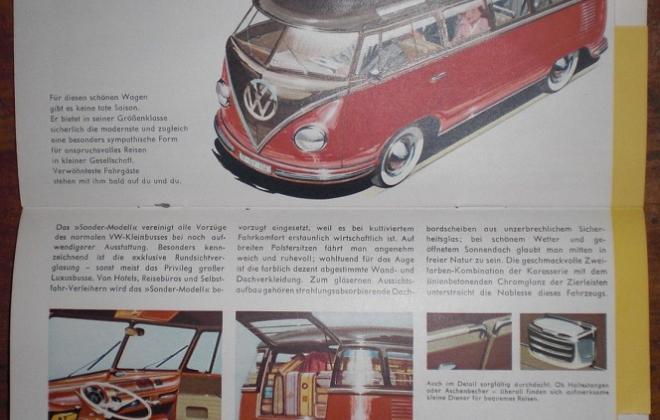 Volkswagen Deluxe Microbus Samba Bus original brochure advertisement 1955 - 1958 (4).jpg
