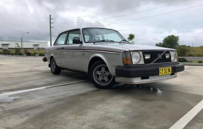 Volvo 242 GT 1979 Mount Hutton Sydney Australia images silver coupe 2 door (2).jpg