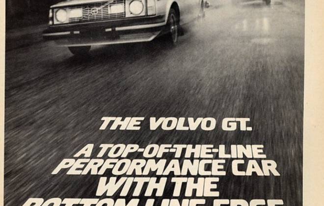 Volvo 242 GT advertisement top of the line performance car.png.png