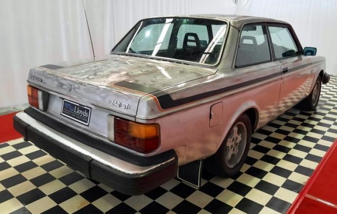 Volvo 242 GT high Km 1979 silver coupe images Australia (9).jpg