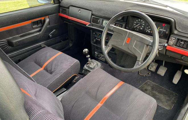Volvo 242 GT interior images red and black trim.jpg