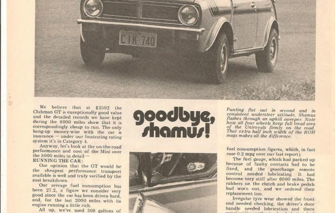 Wheels Magazine Australian Clubman GT review (3).JPG