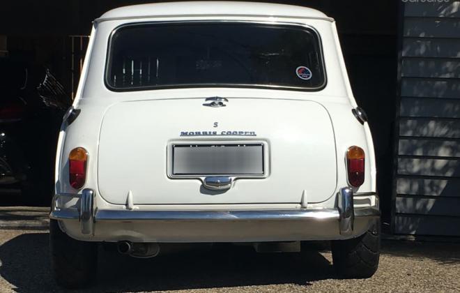 White 1968 Morris Mini Cooper S restored images Australia (10).jpg