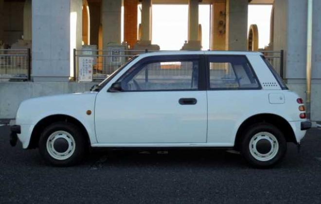 White 1988 Nissan BE-1 automatic images Japan 2021 (4).jpg