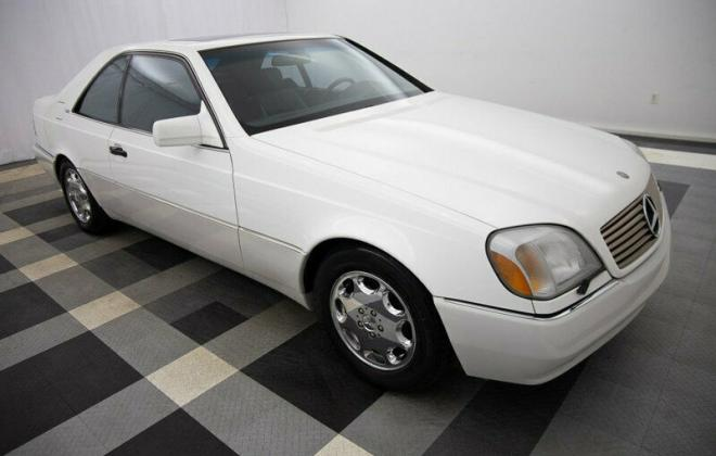 White 1995 S600 coupe Mercedes C140 W140 (1).jpg