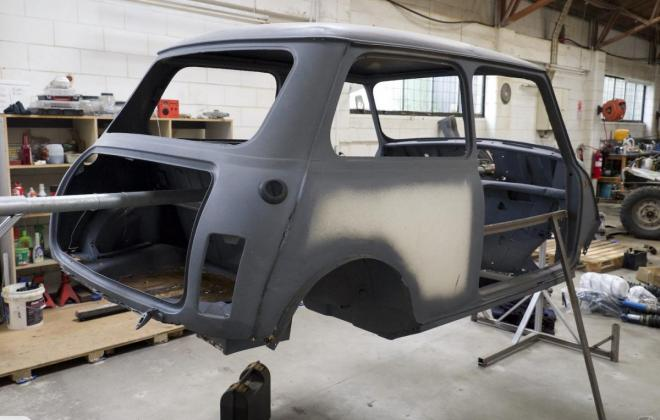 White NZ Australian Mini Clubman GT 1973 unrestored pics (3).jpg