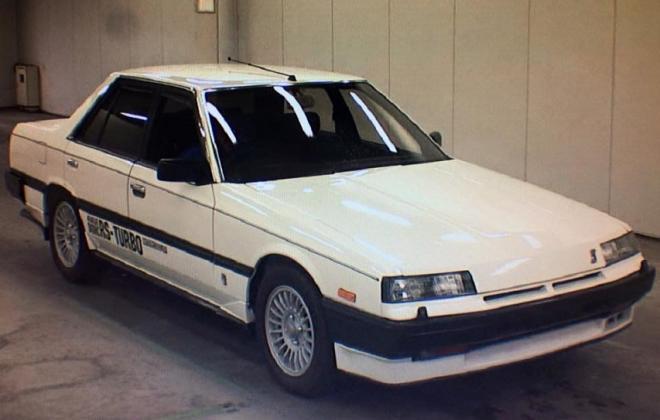 White sedan 1984 Turbo C DR30.jpg