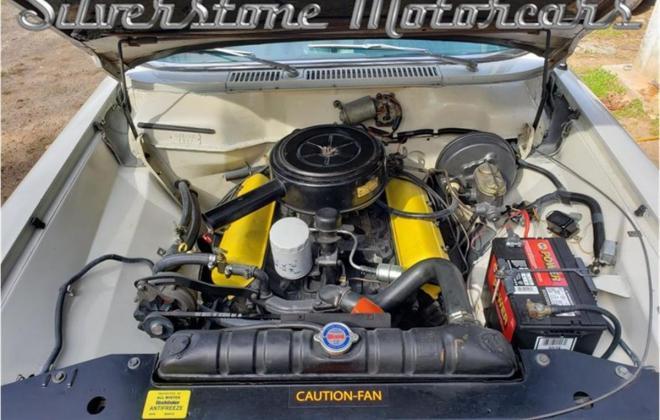 White with blue interior Studebaker Daytona Hardtop half vinyl trim (12).jpg