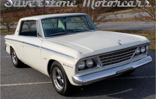 White with blue interior Studebaker Daytona Hardtop half vinyl trim (2).jpg