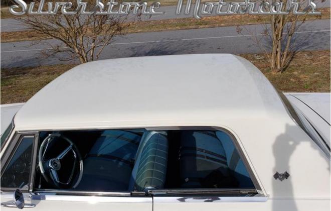 White with blue interior Studebaker Daytona Hardtop half vinyl trim (3).jpg