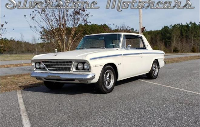 White with blue interior Studebaker Daytona Hardtop half vinyl trim (4).jpg