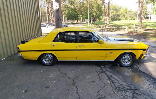 XW GT Ford Falcon Shell Yellow Paint image copy.jpg