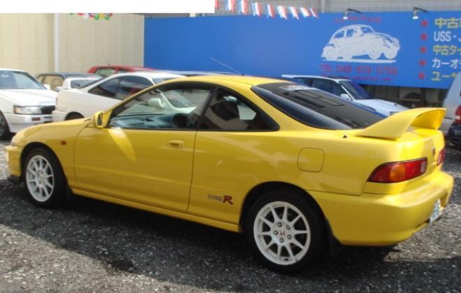 Yellow 2000 spec Type R Integra 1.jpg
