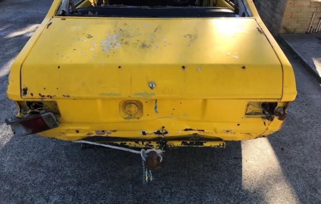 Yellow MK2 RS2000 sedan Australia escort shell unrestored images (2).jpg