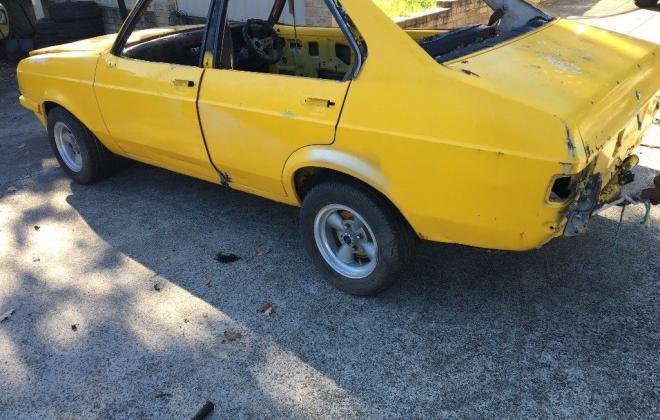 Yellow MK2 RS2000 sedan Australia escort shell unrestored images (3).jpg