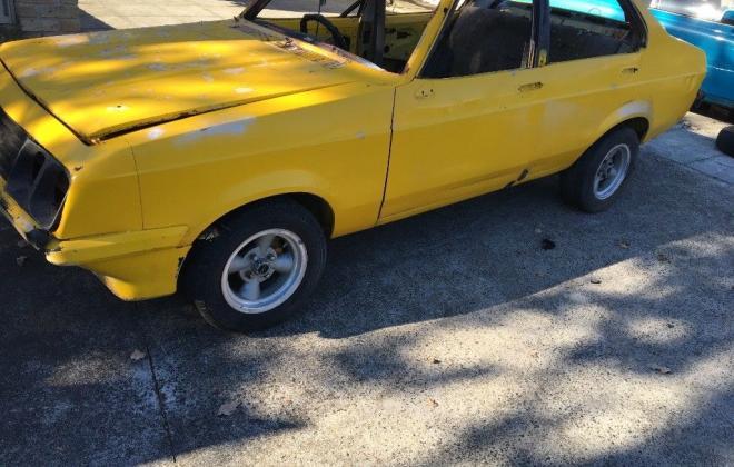 Yellow MK2 RS2000 sedan Australia escort shell unrestored images (4).jpg
