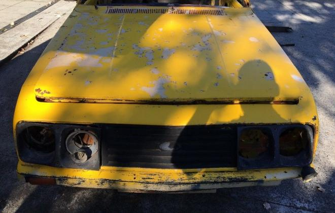 Yellow MK2 RS2000 sedan Australia escort shell unrestored images (5).jpg