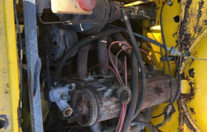 Yellow MK2 RS2000 sedan Australia escort shell unrestored images (6).jpg