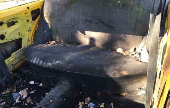 Yellow MK2 RS2000 sedan Australia escort shell unrestored images (7).jpg
