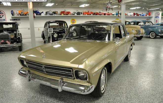 Yellowknife Gold 1966 Studebaker Daytoina Sports Sedan code P-6483 C (2).png