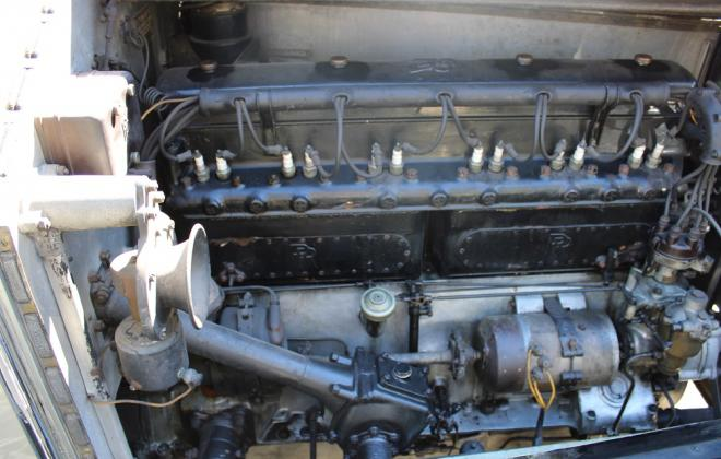 1927 Rolls Royce Phantom 1 For sale engine and chassis images Brewster (6).JPG