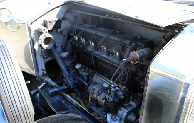 1927 Rolls Royce Phantom 1 For sale engine and chassis images Brewster (7).JPG