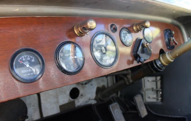 1927 Rolls Royce Phantom salamanca sedanca for sale interior images (3).JPG