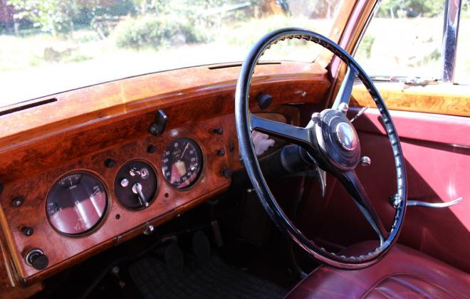 1951 Bentley Mark 6 Mark VI for sale southern highlands australia images interior (4).JPG