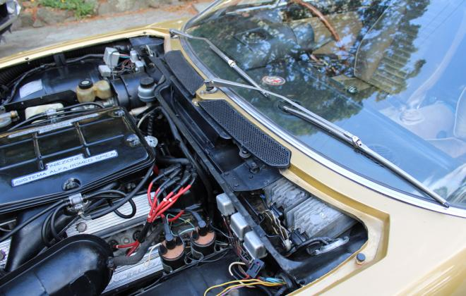 1974 Alfa Montreal for sale Australia engine images (4).jpg